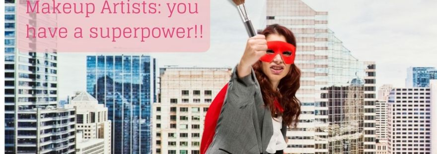 makeup artist superhero